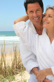 Couple on a romantic getaway — Stock Photo