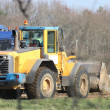 Tractor in construction site — Stock Photo #10890590