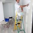 Man painting a wall — Stock Photo #10901325
