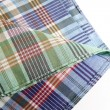 Tartan table cloth - Stock Photo
