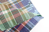 Tartan table cloth — Stock Photo