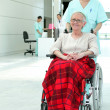 Invalid woman in hospital — Stock Photo #10911243