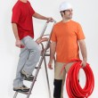 Plumbing team — Stock Photo #10911774