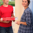 pizza levering — Stockfoto #10972252