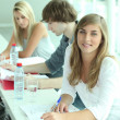 Students in class — Stock Photo #10973827