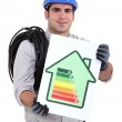 Energy rating system — Stock Photo