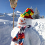 Snowman — Stock Photo #10975115