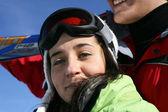 Ritratto di sciatore — Foto Stock