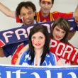 European football supporters — Stock Photo #11020612