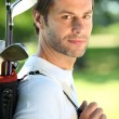 Stock Photo: Golfer
