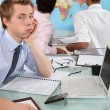 Bored student in class — Stock Photo #11021144