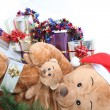 Landscape picture of Christmas — Stock Photo