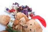 Krajobraz obraz świąt bożego narodzenia — Zdjęcie stockowe