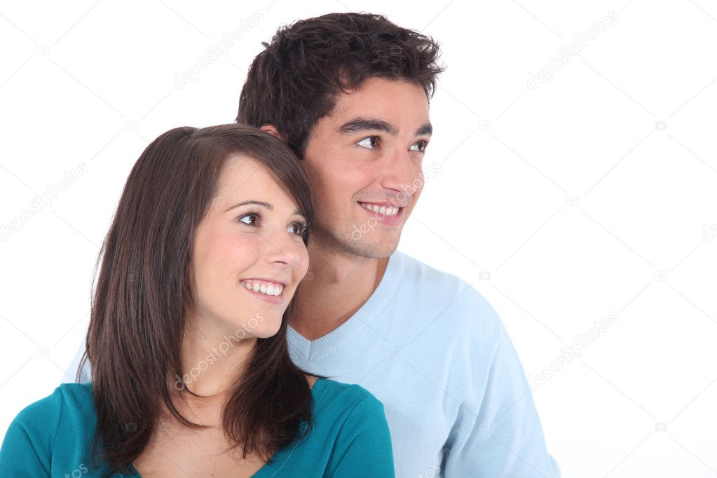 Portrait of a young couple — Stock Photo #11027459