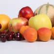 Stock Photo: Fruits assortment.