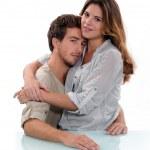 Couple embracing — Stock Photo #11032835