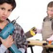 Kid, do it yourself — Stock Photo #11038653
