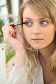 Women make-up tabs — Stock Photo