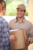 Home delivery — Stock Photo