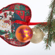 Christmas tree decoration — ストック写真