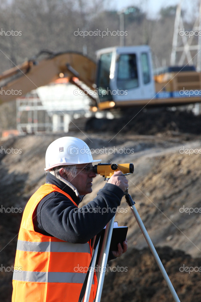 Technical field measuring — Stock Photo #11048490