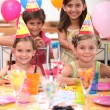 Children at birthday party — Stock Photo #11051234
