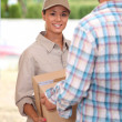 Stock Photo: Package Delivery