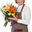 Stock Photo: Female florist