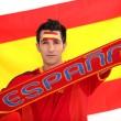 Spanish football supporter — Stock Photo #11057674