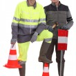 A team of traffic guards — Stock Photo #11058647