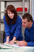 Plumbing Apprentice — Stock Photo