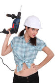 Need a driller? — Stock Photo