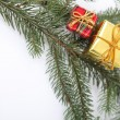 Foto Stock: Christmas tree decorations
