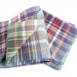 Checked tea towels - Zdjcie stockowe