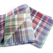 Checked tea towels - Foto de Stock  