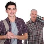 Teenage boy starting apprenticeship — Stock Photo #11066154