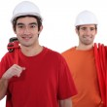 Two plumbers — Stock Photo #11066442