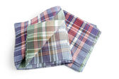 Checked tea towels — Stock Photo