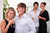 Party partners — Stock Photo