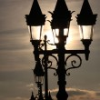 Stock Photo: Lamp posts