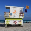 Stock Photo: Lifeguard hut