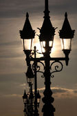 Lamp posts — Stock Photo