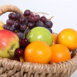 Basket of fresh fruit — Foto de stock #11360356