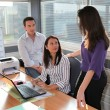 Three office workers — Stock Photo #11360651