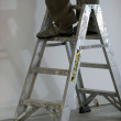 Step ladder - Stock Photo