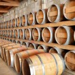 Cellar in winery — Stock Photo