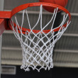 Stock Photo: Basketball net