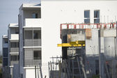 Apartment block under development — Stock Photo