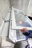 Window fitter — Stock Photo