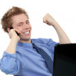 Stock Photo: Successful businessman